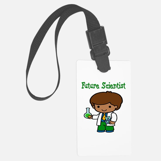 cute future scientist Luggage Tag
