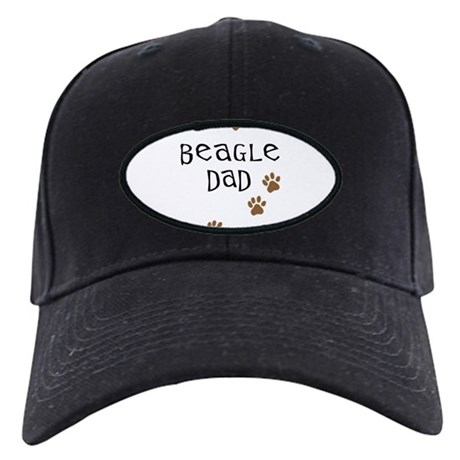 Beagle Dad Black Cap
