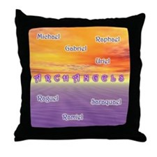 Archangels - Throw Pillow