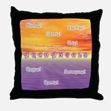 Archangels - Throw Pillow