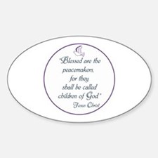 Blessed the peacemakers,Children of God Decal