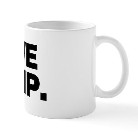 I have to PHP. Mug