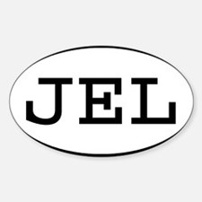 JEL Oval Rectangle Decal