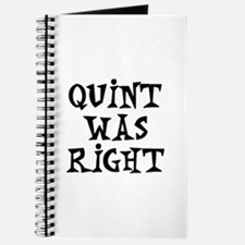 quint was right Journal