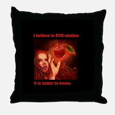 EVE-olution Throw Pillow