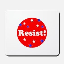 Resist! Stand up to trump Mousepad