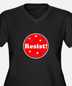 Resist! Stand up to trump Plus Size T-Shirt