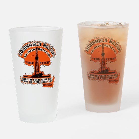 THE PATCH Drinking Glass