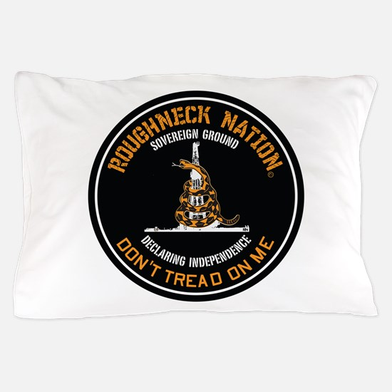 COILED RIG LOGO Pillow Case