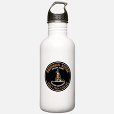 COILED RIG LOGO Water Bottle