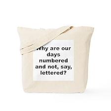 Unique Allen quote Tote Bag