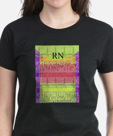 RN iphone cardiac funky Women's Cap Sleeve T-Shirt