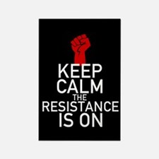 Resistance Keep Calm Rectangle Magnet