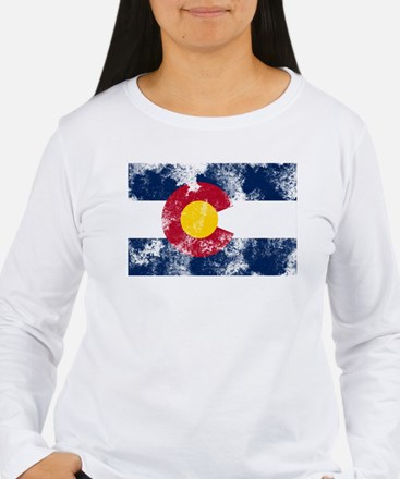 colorado-flag Long Sleeve T-Shirt