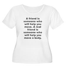 Cute Friends quote T-Shirt