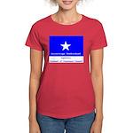 Bonnie Blue, SI, CUC Women's Dark T-Shirt