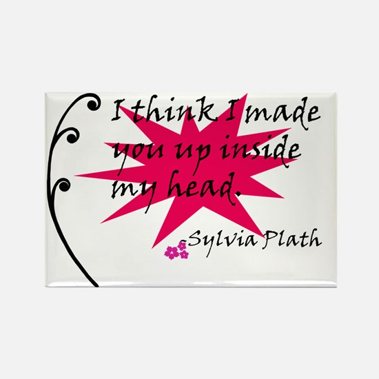 Cool Sylvia Rectangle Magnet