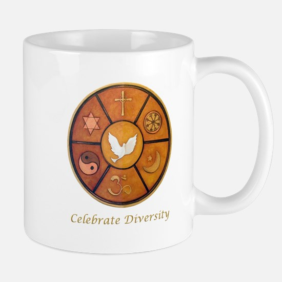 Interfaith, Celebrate Diversity - Mug