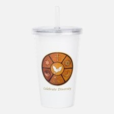 Interfaith, Celebrate Acrylic Double-wall Tumbler