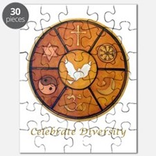 Interfaith, Celebrate Diversity - Puzzle