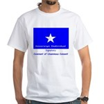 Bonnie Blue, SI, CUC White T-Shirt