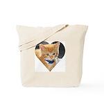 Ginger Kitten Tote Bag