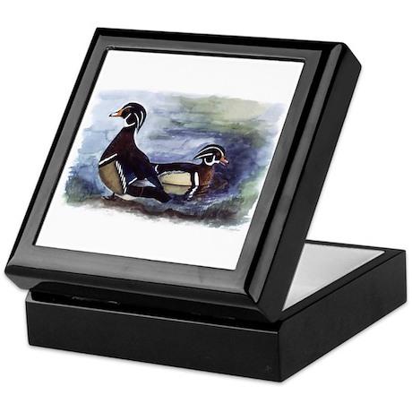 Wood Ducks Keepsake Box