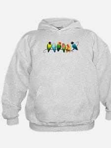 Colorful Lovebirds Sweatshirt