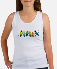 Colorful Lovebirds Tank Top
