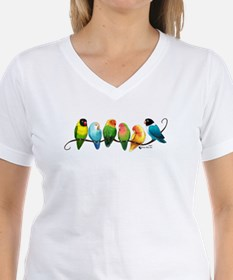 Colorful Lovebirds T-Shirt