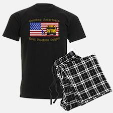 Zmpcyellowwords Pajamas