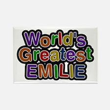 World's Greatest Emilie Rectangle Magnet