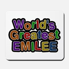 World's Greatest Emilee Mousepad