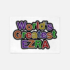 World's Greatest Ezra 5'x7' Area Rug