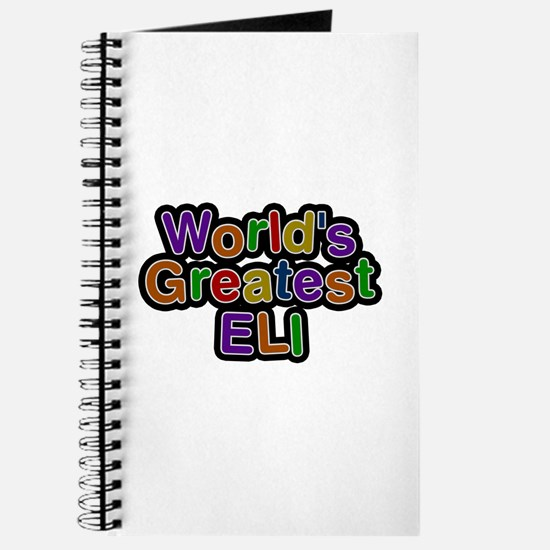 World's Greatest Eli Journal