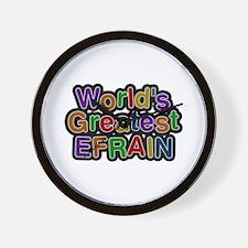 World's Greatest Efrain Wall Clock