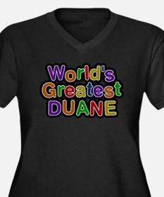 Worlds Greatest Duane Plus Size T-Shirt