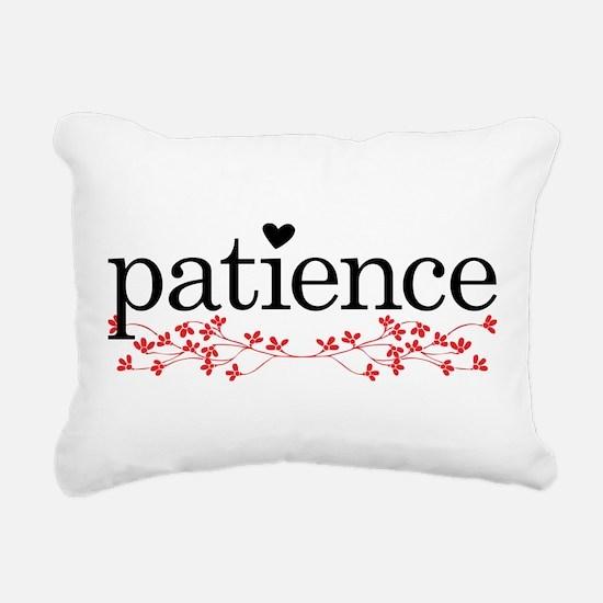 Patience Rectangular Canvas Pillow