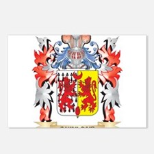 Quinland Coat of Arms - F Postcards (Package of 8)