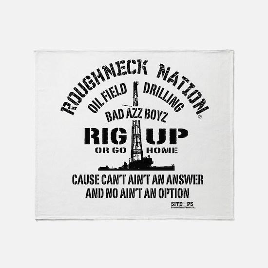 RIG UP BOYZZ Throw Blanket