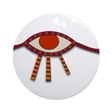 Eye of Horus Ornament (Round)