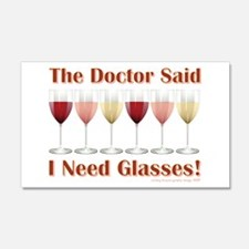 THE DOCTOR SAID... Wall Decal