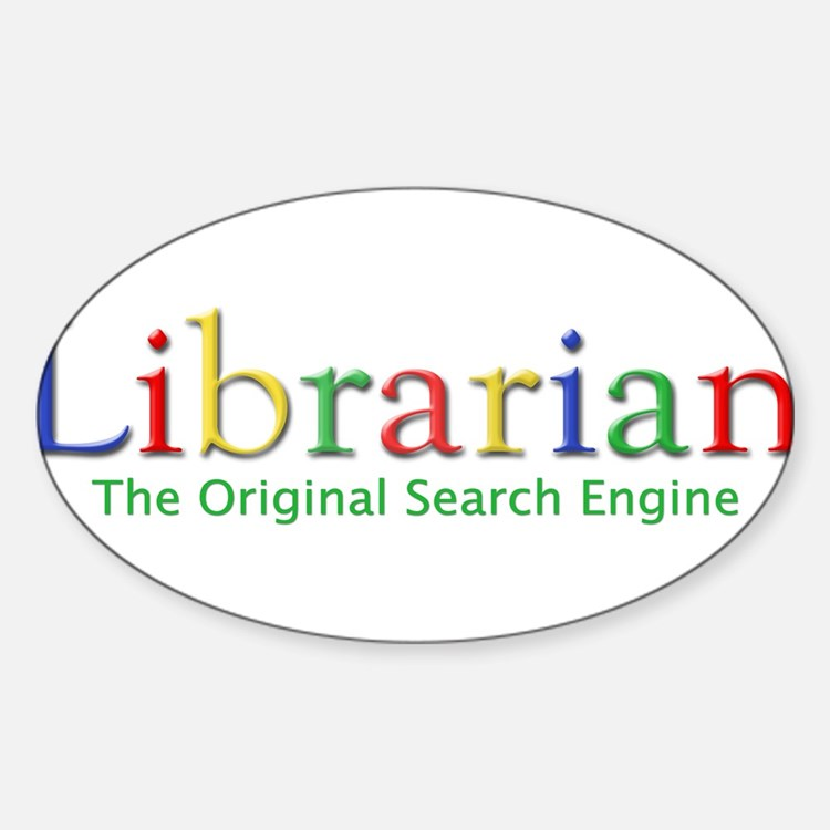 Librarian Rectangle Decal