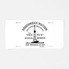 FRAC PACK Aluminum License Plate