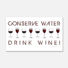 CONSERVE WATER... Wall Decal