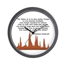 Far Better Is It... Wall Clock