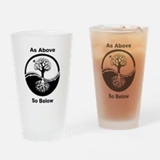 AsAboveSoBelow Drinking Glass