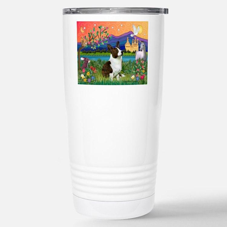 Cute Corgi breed Travel Mug