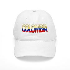 """Colombia Bubble Letters"" Baseball Cap"