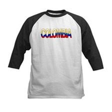 """""""Colombia Bubble Letters"""" Tee"""